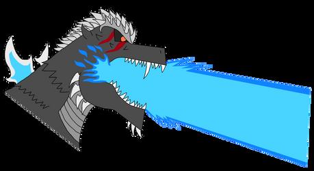 KP-ROG  Godzilla Concept (NEW-Colored) copy by MasterGojira