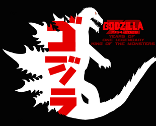 GODZILLA-72 Years by MasterGojira