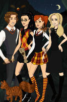 Harry Potter Gender Bender by BeatleChica