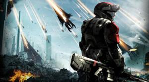 Halo ODST: Mass Effect by DeviantHeru