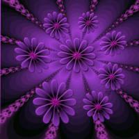 Purple Newton by karlajkitty