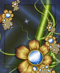 Moonlit Garden by karlajkitty