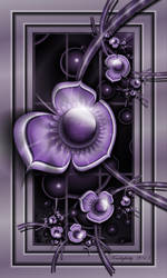 Dimensions Of Purple by karlajkitty