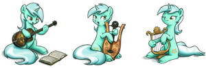 Lyre-guitar by King-Kakapo