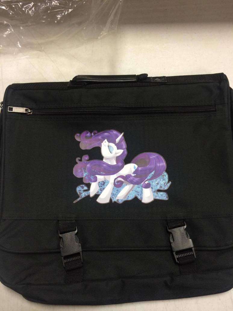 Rarity Laptop Messenger Bag by shottsy85