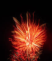 Hellish Fireworks by seraphunk