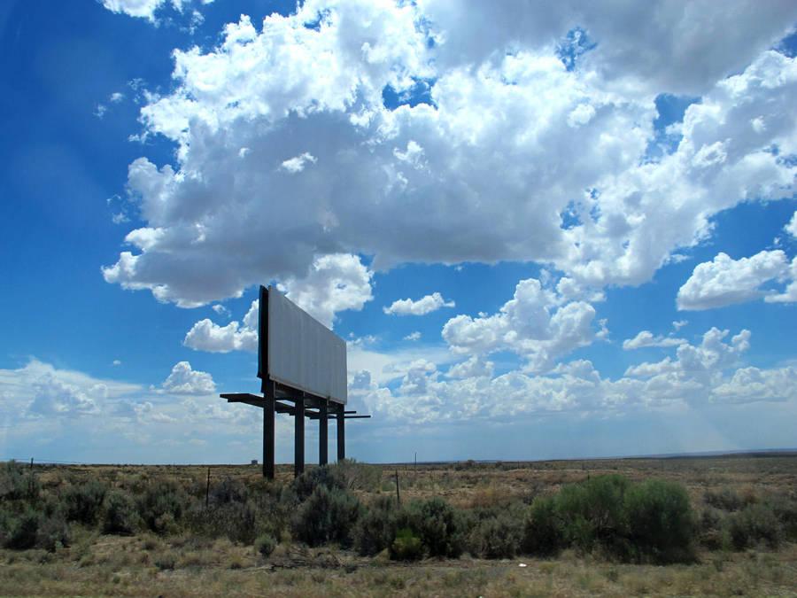 Blank Billboard by seraphunk