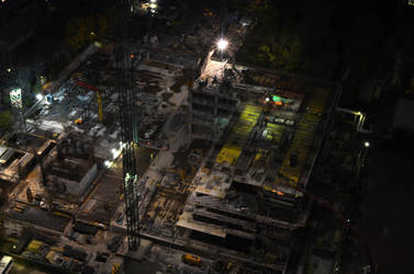 construction site by MarculescuSorin