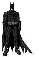 dark detective BATMAN by phil-cho