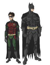 The Dark Knight x Robin 3 by phil-cho