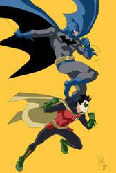 Batman and Robin by phil-cho
