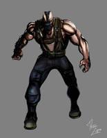 Dark Knight Rises Bane by phil-cho