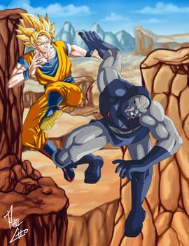 Goku vs. Darkseid by phil-cho