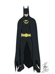 Keaton Batman by phil-cho