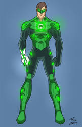 Green Lantern by phil-cho