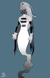 Ghost girl (inverse) commission by phil-cho
