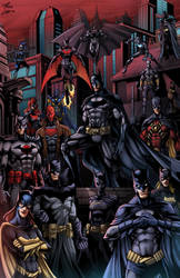 Batman75 Bat-Family by phil-cho