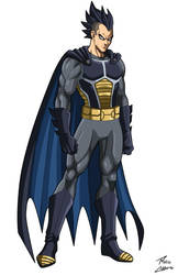 Brugeta (Vegeta/Batman fusion) by phil-cho