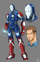 Steel Patriot commission by phil-cho
