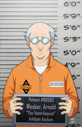 Arnold Wesker locked up by phil-cho