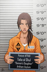 Talia Al Ghul locked up by phil-cho