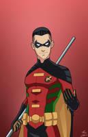 Robin 3.0 (Tim Drake) commission by phil-cho