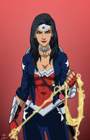 Wonder Woman (Earth-27) commission by phil-cho