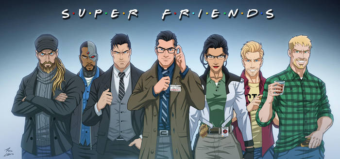 Super Friends by phil-cho