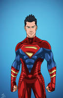 Superboy (Earth-27) Titan commission by phil-cho