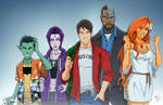 Teen Titans -casual- (Earth-27) by phil-cho