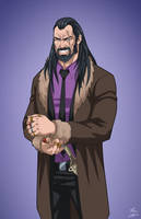 Vandal Savage (Earth-27) commission by phil-cho