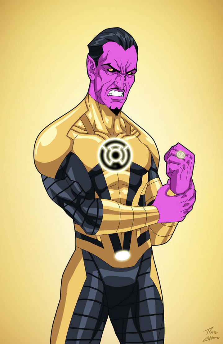 sinestro earth 27 commission by phil cho on deviantart