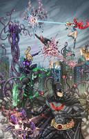 Destruction in Gotham (Earth-27) by phil-cho