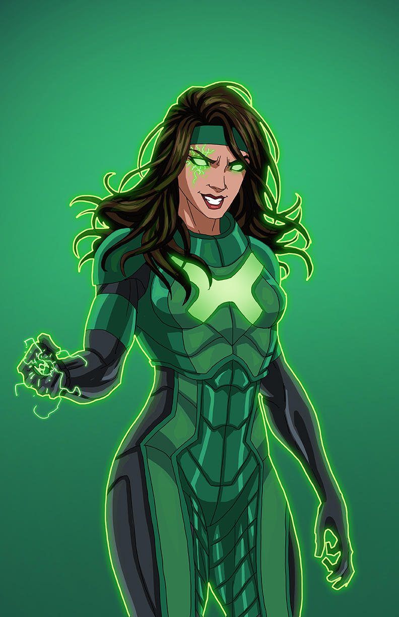 Power Ring (Earth-27) commission by phil-cho