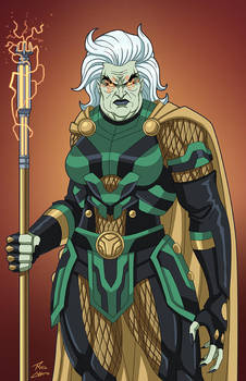 Granny Goodness (Earth-27) commission by phil-cho
