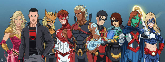 The Team v.2 (Earth-27) by phil-cho