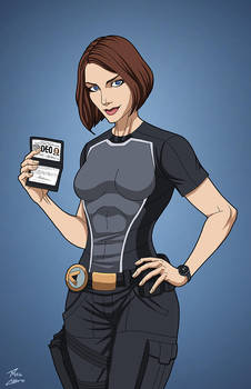 Alex Danvers (Earth-27) commission by phil-cho