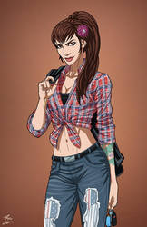 Evelyn Crawford (Earth-27) commission by phil-cho