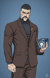 Bruno Mannheim (Earth-27) commission by phil-cho