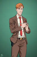 Ralph Dibny (Earth-27) commission by phil-cho