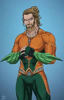 Aquaman v.2 (Earth-27) commission by phil-cho