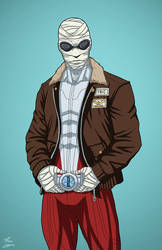 Negative Man (Earth-27) commission by phil-cho
