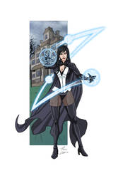 Zatanna commission by phil-cho