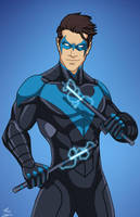 Nightwing (E27 edit) 03 by phil-cho