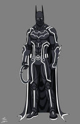Batman Tron commission by phil-cho
