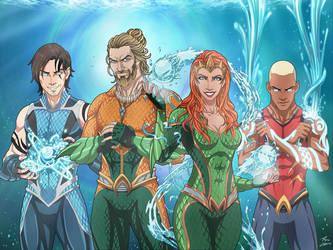Aqua-Family by phil-cho