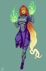 Starfire (ME-1) commission by phil-cho