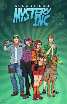 Mystery Inc (Earth-27) by phil-cho