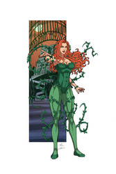 Poison Ivy commission by phil-cho
