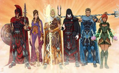 NeOlympus Gods by phil-cho